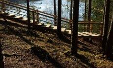 Dabas krāšņums Ogres novadā – Zilie kalni un jauns pontonu tilts