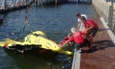 Smagu avāriju sacensībās Portugālē piedzīvo Latvijas ātrumlaivu pilots Slakteris