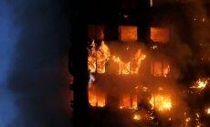 'Grenfell Tower' ugunsgrēku izraisīja ledusskapja aizdegšanās