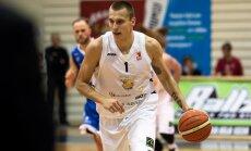 'Jēkabpils' basketbolisti tikai noslēdzošajā ceturtdaļā salauž 'Valka/Valga' pretestību