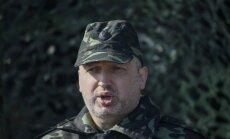 Krima novedīs pie Putina režīma krišanas, pārliecināts Turčinovs