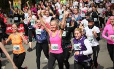 Daiļā dzimuma pārstāves aicina piedalīties Sieviešu skrējienā Mežaparkā