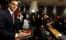 Sarūk Spānijas sociālistu izredzes izveidot valdību