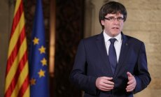 Katalonija nepieņems Spānijas lēmumu par autonomijas apturēšanu, paziņo Pudždemons