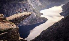 Troļļa mēle – viena no skaistākajām un baisākajām vietām Norvēģijā