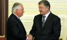 Krievijai pirmajai jāsper soļi situācijas stabilizēšanai Ukrainā, uzsver Tilersons