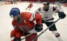 Latvijas izlase kārtējo reizi nespēj pieveikt Čehiju