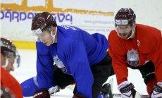 Dārziņš un Artūrs Kulda uzsāk treniņus ar Latvijas izlasi