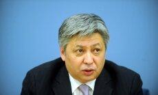 Kirgizstānas ārlietu ministrs izvairās no atbildes uz jautājumiem par strīdu ar baņķieri Belokoņu