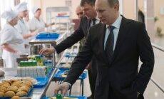 ФОТО: что ел Владимир Путин в свой день рождения