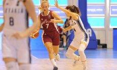 Latvijas U-18 basketbolistes uzvar arī EČ grupu turnīra noslēdzošajā mačā