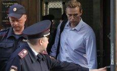 Navaļnijam piespriež 30 dienu administratīvo arestu