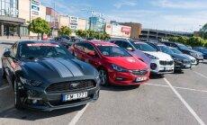 Aizvadīts 'Latvijas Gada auto 2017' pirmais pretendentu brauciens