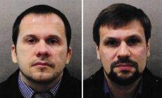 'Novičok' lieta: Putins aizstāv aizdomās turētos GRU aģentus