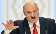 Lukašenko ar provokatīviem izteikumiem šokē Krieviju