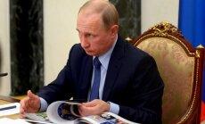 Putins: ar Sīrijas operāciju Krievija pierādījusi, ka spēj stāties pretī 'jebkuriem draudiem'