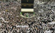 Foto: Vairāk nekā divi miljoni musulmaņu sāk ikgadējo svētceļojumu