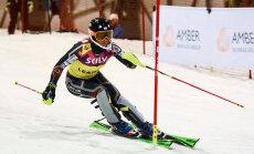 Kalnu slēpotāja Gasūna izcīna 22.vietu Pasaules kausa sacensībās