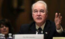 'Obamacare' kritiķis Praiss kļūst par ASV veselības ministru