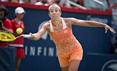 Arī Sevastova nepārvar Sinsinati WTA 'Premier' turnīra pirmo kārtu