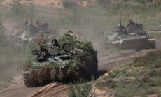 Krievija rīkos vērienīgākās militārās mācības kopš Aukstā kara