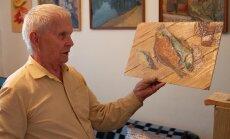 ФОТО: Рижане отблагодарили пенсионера, отремонтировавшего во дворе ямы