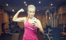Nepārpumpēties, vien uzturēt sevi formā. Sandijas Andersones stāsts par dzīvi vienos treniņos