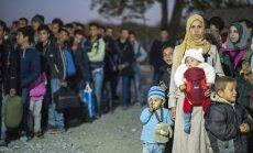 Pie Maķedonijas robežas drūzmējas arvien vairāk imigrantu