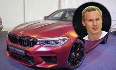 Jānis Timma lepojas ar ļoti ekskluzīvu BMW