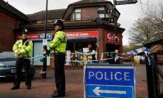 Lielbritānijas policija identificējusi ar Skripaļu saindēšanu aizdomās turamos
