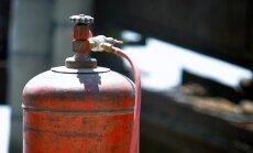 Gāzes balona eksplozijā un tam sekojošā ugunsgrēkā Iecavā gājis bojā cilvēks