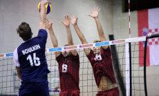 Latvijas volejbolisti nodrošina tiesības spēlēt EČ kvalifikācijas izslēgšanas kārtā