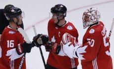 Kanādas izlase Pasaules kausa grupu turnīru noslēdz bez zaudējumiem