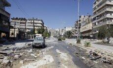 Džihādisti Sīrijā piesituši krustā deviņus cilvēkus