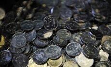 Krievijas rubli pasludina par otro vājāko valūtu pasaulē