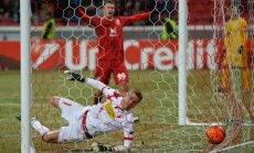 Vaņins ar 'Sion' mazākumā Eiropas līgas mačā piekāpjas 'Rubin'