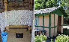 Самый дешевый ночлег на литовском взморье: за 15 евро – 4 кровати и общий уличный туалет