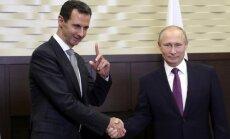 Uzbrukums Sīrijai varētu būt ļoti drīz vai ne tik drīz, pauž Tramps