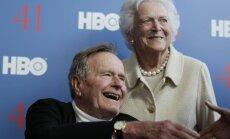 Džordžs Bušs vecākais izrakstīts no slimnīcas