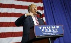 Mediji ir amerikāņu ienaidnieks, tvīto ASV prezidents