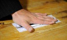 Saeimas vēlēšanu sarakstu iesniegšanu pirmajā dienā nesaņem nevienu pieteikumu