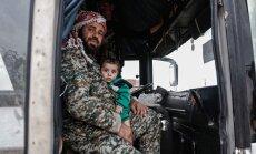 Pie Damaskas sākusies kaujinieku evakuācija jau no trim pilsētām