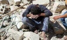 Aktīvisti: Krievija sākusi intensīvāk bombardēt Alepo