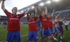 Cauņas pārstāvētā CSKA komanda Krievijas čempionāta spēlē paglābjas no zaudējuma