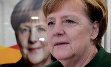 Merkele ar sociāldemokrātiem cer vest nopietnas sarunas par valdības izveidi