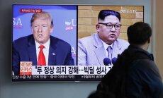 ASV cer uz progresu sarunās par Trampa un Kima samitu