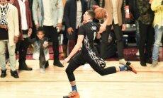 Video: NBA visu laiku krāšņākajā 'slam dunk' konkursā uzvar Lavīns