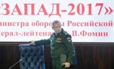 'Zapad-2017' ir tīri aizsardzības mācības, apgalvo Maskava