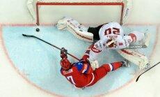 Krievija pēc NHL zvaigžņu atbraukšanas pārliecinoši apspēlē Šveici