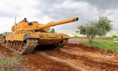 Ukraiņi uzlabos Turcijas iepirktos vācu tankus 'Leopard'